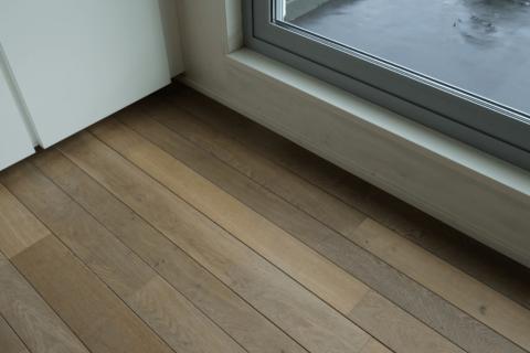 stijlvolle houten parketvloer